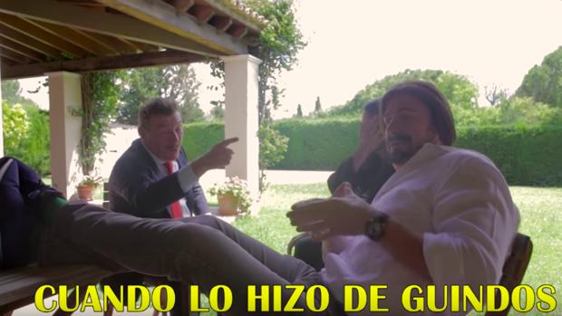 Fotograma del vídeo de Los Morancos.