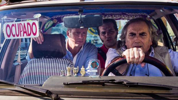 'El Selu', taxista en 'El mundo es suyo'.