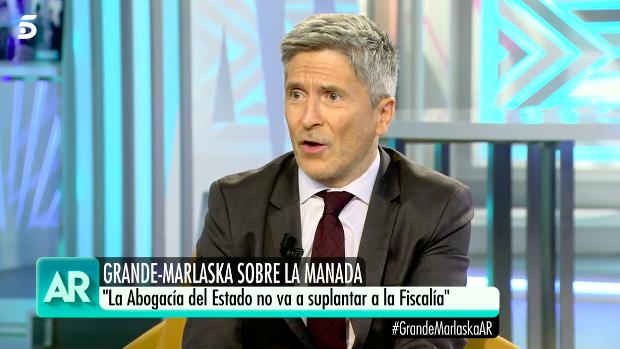 Grande Marlaska en 'El programa de Ana Rosa'.