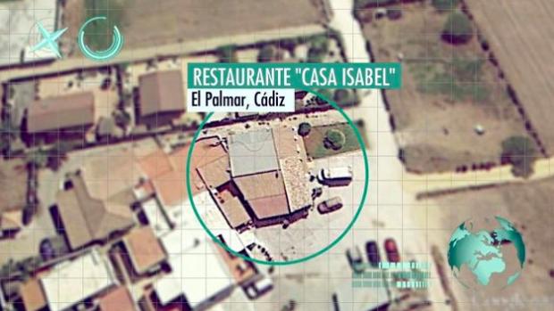 Lugar donde comieron dos miembros de 'La Manada' en El Palmar.