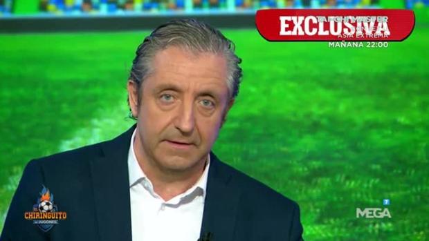 José Pedrerol, presentador de varios programas en Atresmedia.