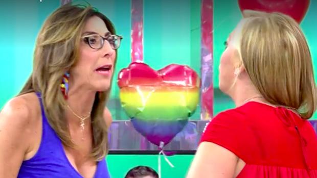 Paz Padilla discute con Belén Esteban.