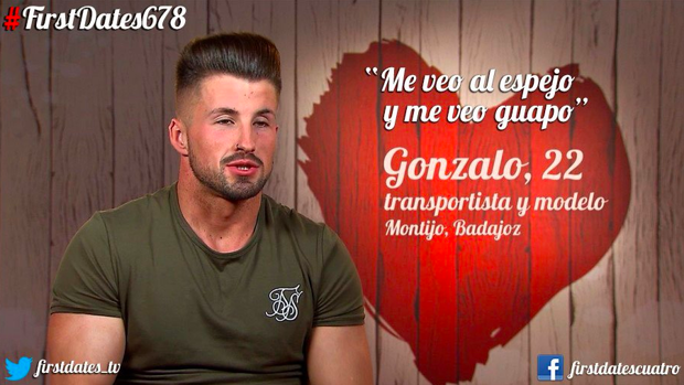 Gonzalo, transportista y modelo extremeño.