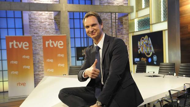 Javier Cárdenas, presentador de 'Hora Punta'.
