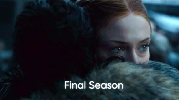 Fotograma de la última temporada de 'Juego de tronos'.