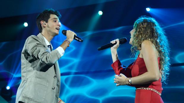 Dave y Marilia interpretaron el clásico 'Alfonsina y el mar'.