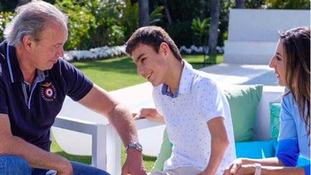 Bertín Osborne, Adrián Vega y Paz Padilla en 'Mi casa es la vuestra'.