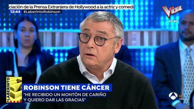 Michael Robinson acudió a 'Espejo Público' para hablar de su enfermedad.