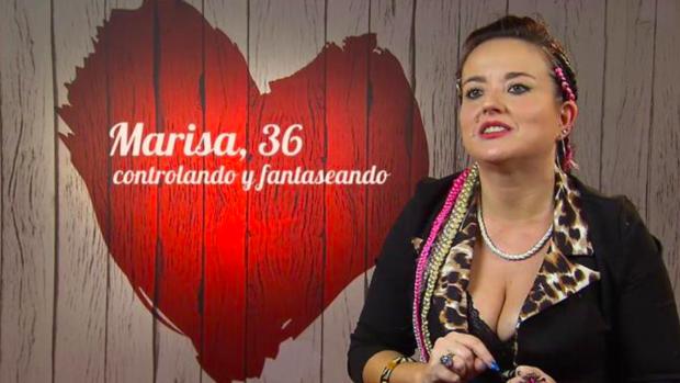 Marisa, artista granadina que acudió a 'First Dates'.
