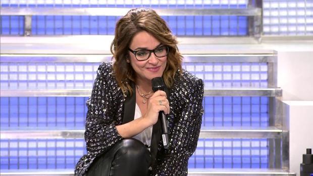 Toñi Moreno, en 'Mujeres y Hombres'.