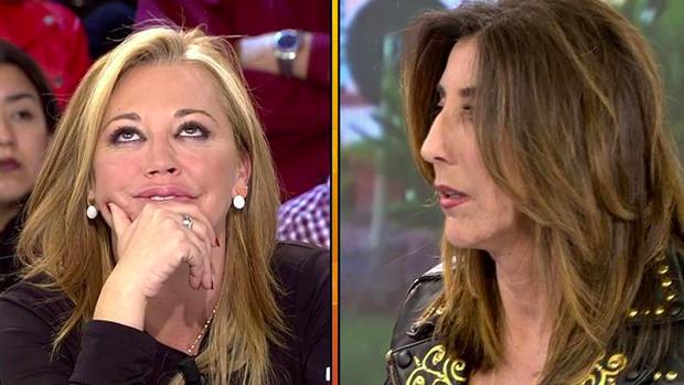 Belén Esteban y Paz Padilla en 'Sálvame'.