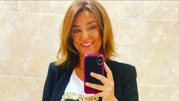 Toñi Moreno, presentadora de 'Mujeres y hombres'.
