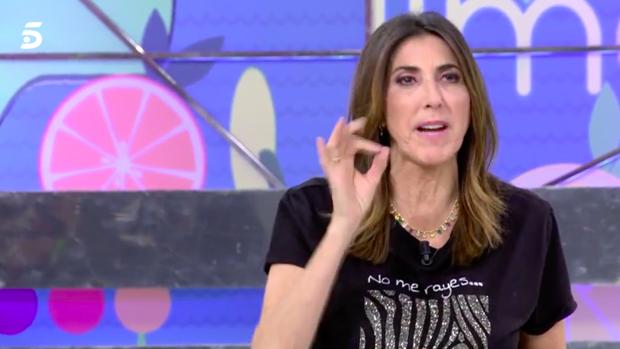 Paz Padilla, presentadora de 'Sálvame'.