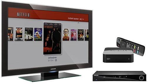Blu-ray y TV-box para ver Netflix en televisores tontos