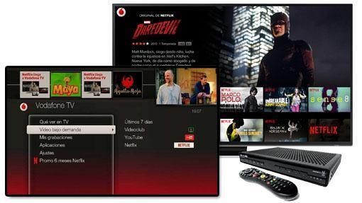 Acceso a Netflix desde el TiVo de Vodafone