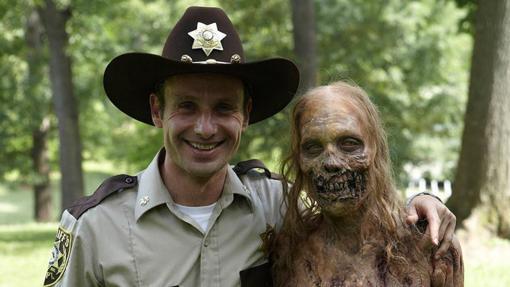 Sin duda, los zombis de The Walking Dead son los que estan mejor conseguidos