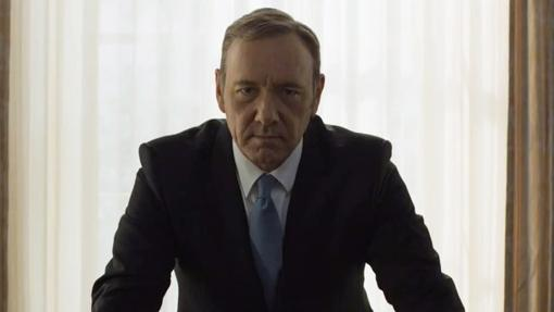 Kevin Spacy como Frank Underwood