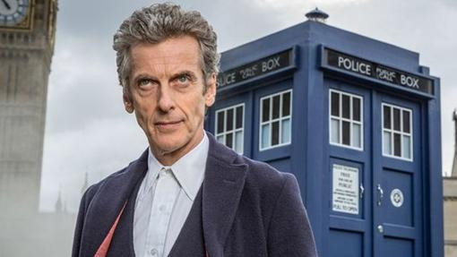 Peter Capaldi como el Doctor Who