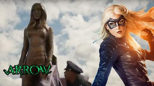 Veremos una estatua de Canario Negro en la quinta temporada de Arrow