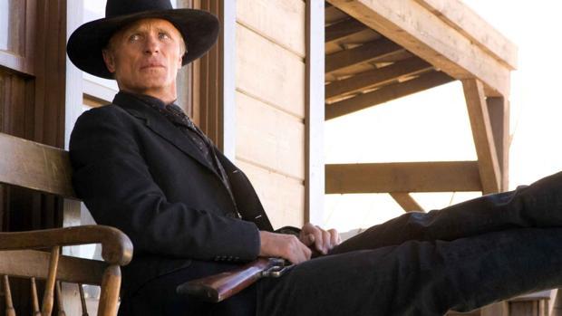 Ed Harris en Westworld, uno de las series más esperadas del año