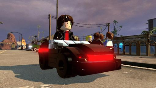 Así es el tandem Michael / Kitt en formato Lego