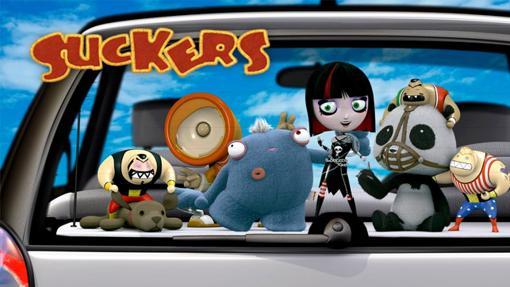 Algunos de los personajes de Suckers