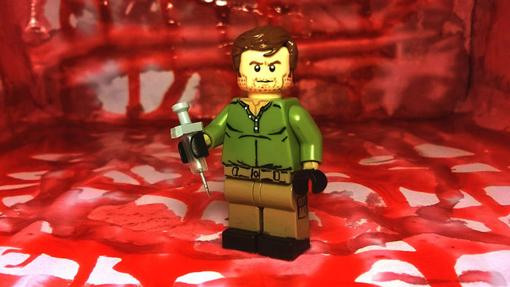 Curiosamente, el opening de Dexter no está en formato LEGO ¡Una lastima!