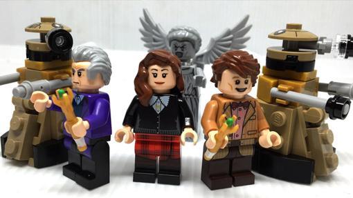 Set LEGO de los dos últimos Doctores