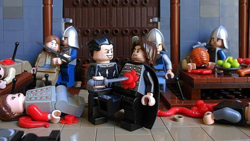La Boda roja también tiene versión en LEGO