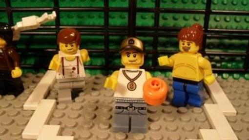 Captura del Príncipe de Bel-Air en formato LEGO