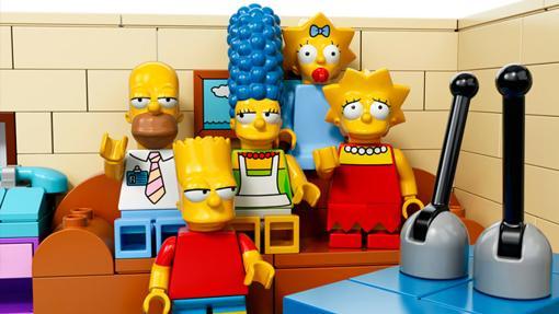 Las figuras oficiales que LEGO desarrolló para Los Simpson