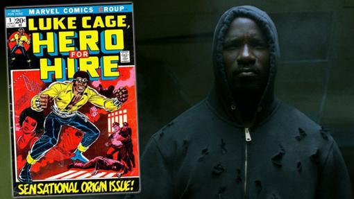 El primer cómic de la colección de Luke Cage