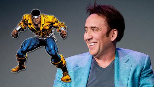 Nicolas Cage, un fan de Luke Cage