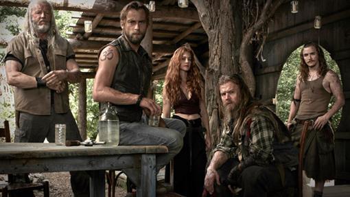 La familia protagonista de Outsiders