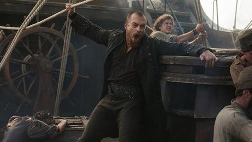 El Capitán de los piratas de Black Sails