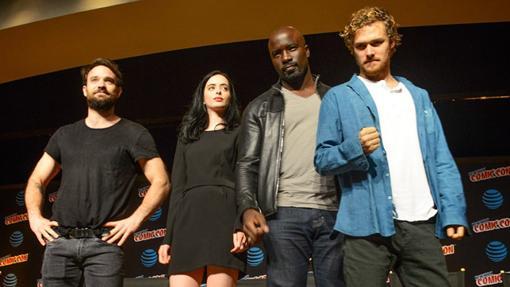 Los protagonistas de Los Defensores se dejaron ver en la Comic Con de Nueva York
