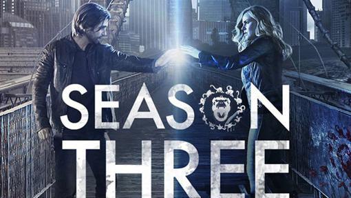 Banner de la tercera temporada de Doce Monos