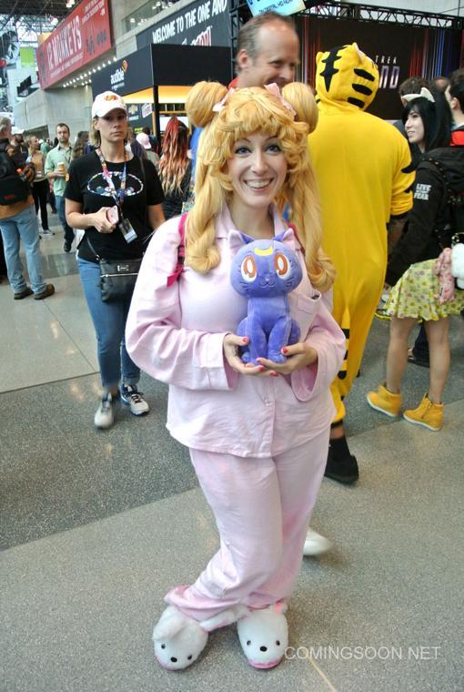 Ir a la Comic Con en Pijama... una gran idea