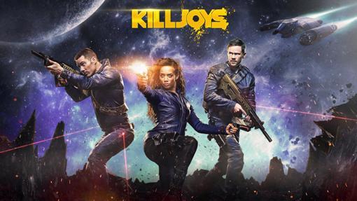 Los tres miembros de Killjoys