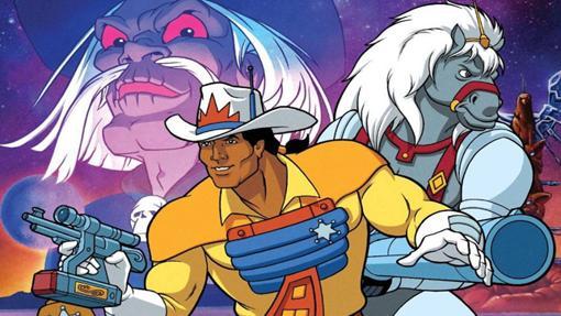 BraveStarr, su fiel corcel y el malvado Tex Hex