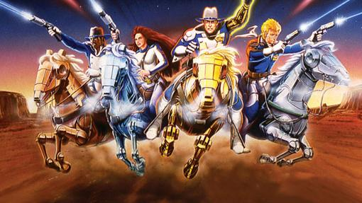 La serie se titulaba The Adventures of the Galaxy Rangers