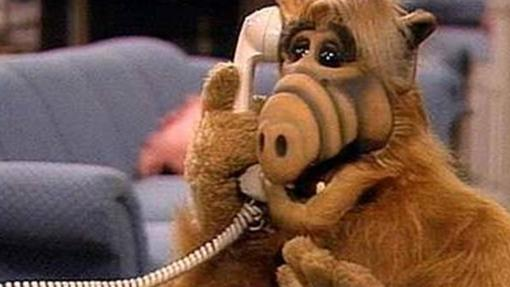 ALF, como E.T., también llamaba a por teléfono