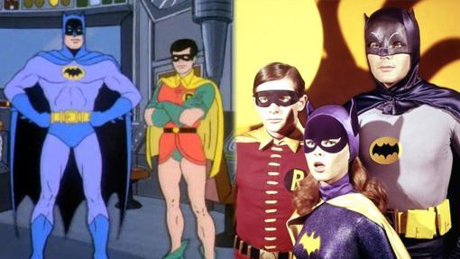 El Batman y el Robin de la televisión setentera