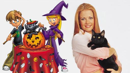 Version animada y real de Sabrina, la bruja adolescente
