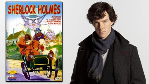 Dos versiones muy diferentes de Sherlock Holmes