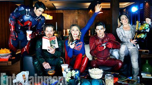 Algunos de los héroes del CWVerso