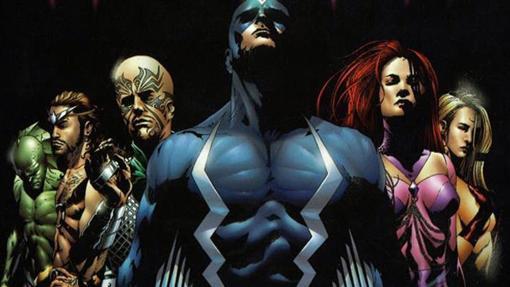 Rayo Negro y los Inhumanos de Marvel