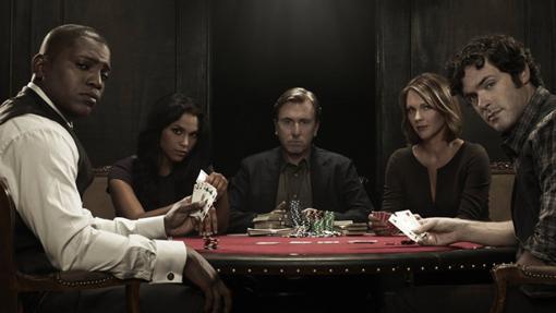Jugar al poker con el personaje de Roth tiene que ser una pesadilla