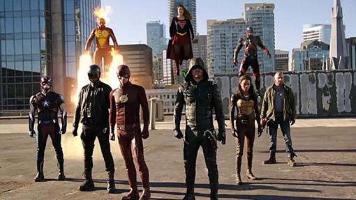 Los héroes de The CW