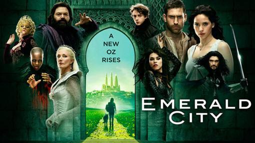 Algunos de los personajes de Emerald City